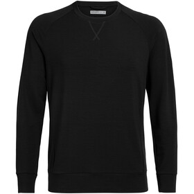 Icebreaker Momentum LS Crewe Men black
